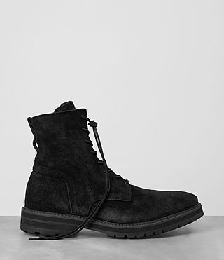 Mens Loft Suede Boot (Black) - product_image_alt_text_4