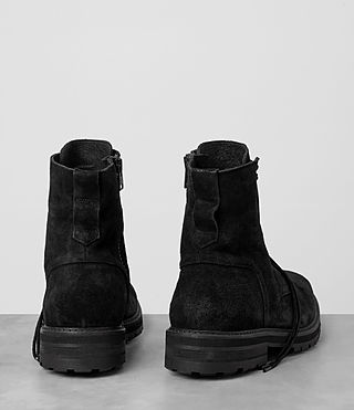 Mens Loft Suede Boot (Black) - product_image_alt_text_5