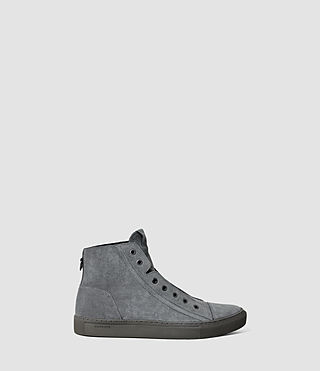 Hommes Scramble Hi Top (Charcoal)