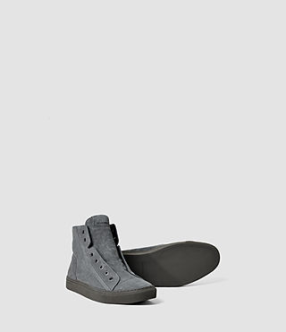 Hombres Scramble Hi Top (Charcoal) - product_image_alt_text_3