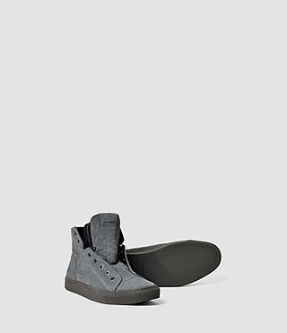Hombres Scramble Hi Top (Charcoal) - product_image_alt_text_4