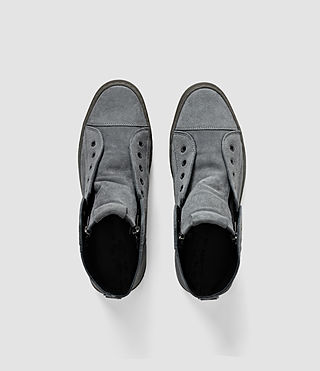 Hombres Scramble Hi Top (Charcoal) - product_image_alt_text_5