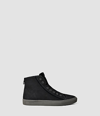 Herren Scramble Hi Top (Black)