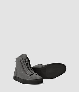 Herren Tracker Hi Top (Charcoal) - product_image_alt_text_3