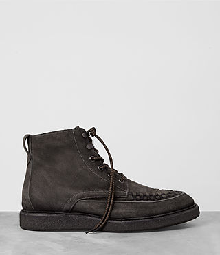 Mens Moth Boot (Dark Taupe) - product_image_alt_text_4