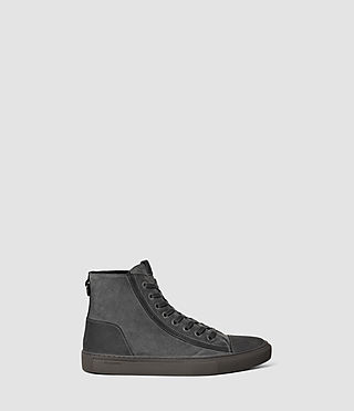 Hommes Circuit Hi-top (Charcoal) -