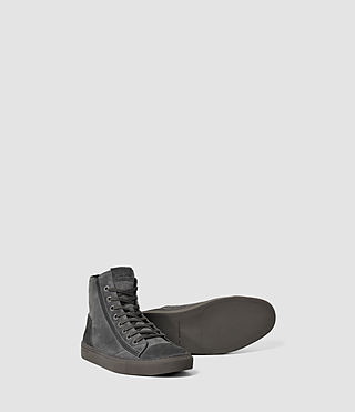 Hommes Circuit Hi-top (Charcoal) - product_image_alt_text_3
