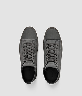 Hommes Circuit Hi-top (Charcoal) - product_image_alt_text_4