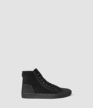 Mens Circuit Hi-top (Black) - product_image_alt_text_1