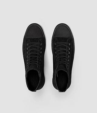 Mens Circuit Hi-top (Black) - product_image_alt_text_4
