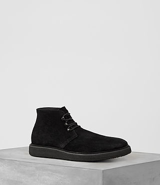 Mens Kanto Desert Boot (Black)