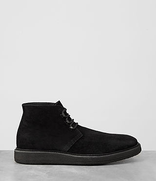 Mens Kanto Desert Boot (Black) - product_image_alt_text_4