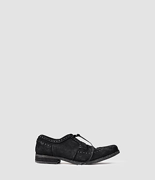 Hombres Aries Brogue (Black)