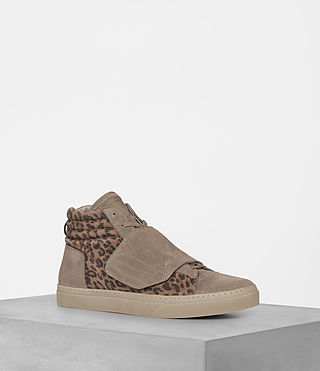 Hommes Sneakers montantes Icarus (Leopard) -
