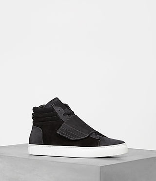 Men's Icarus Hi-top (Black) - product_image_alt_text_2