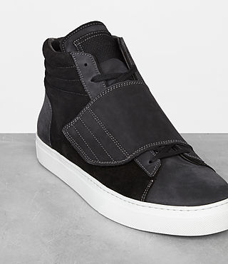 Men's Icarus Hi-top (Black) - product_image_alt_text_3