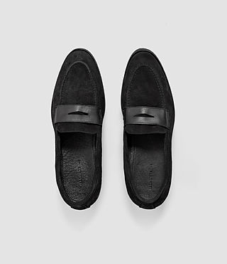 Hombres Expel Loafer (Black) - product_image_alt_text_4