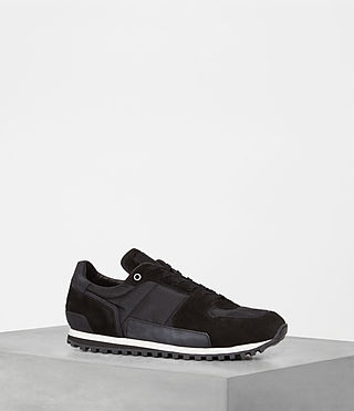 Hombres Sterling Runner Sneaker (Washed Black) -