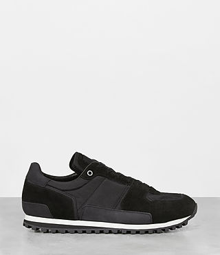 Hombres Sterling Runner Sneaker (Washed Black) - product_image_alt_text_2