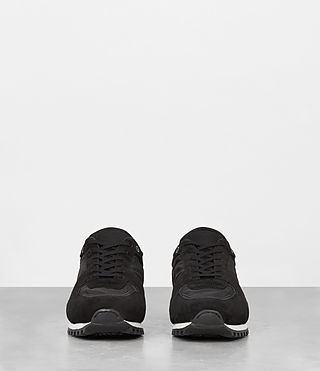 Hombres Sterling Runner Sneaker (Washed Black) - product_image_alt_text_4