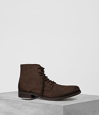 Hombres Pin Boot (Chocolate)