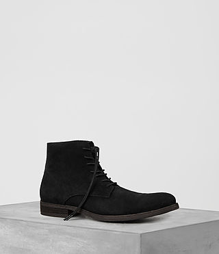 Mens Pin Boot (Black) - product_image_alt_text_1