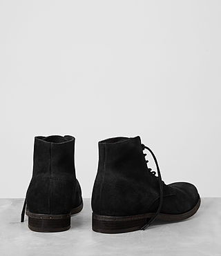 Mens Pin Boot (Black) - product_image_alt_text_5
