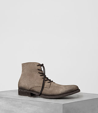 Mens Pin Boot (Taupe) - product_image_alt_text_1