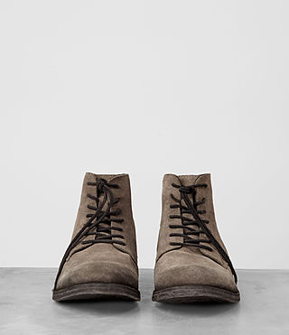 Mens Pin Boot (Taupe) - product_image_alt_text_3