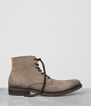 Mens Pin Boot (Taupe) - product_image_alt_text_4