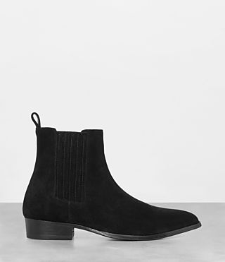 Mens Curtis Chelsea Boot (Jet Black) - Image 3