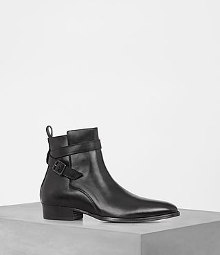 Hommes Mar Boot (Jet Black)