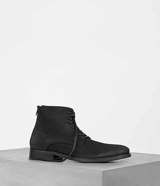Mens Sett Boot (Washed Black)
