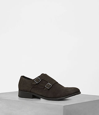 Mens Hynes Monk-Strap Shoe (Bitter Brown)