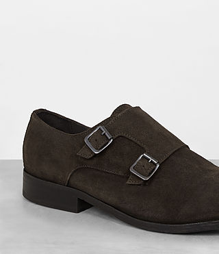Hombre Hynes Monk-Stripe Shoe (Bitter Brown) - product_image_alt_text_2