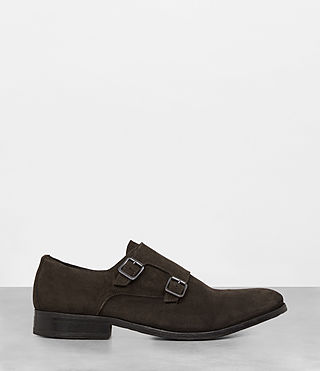 Hombre Hynes Monk-Stripe Shoe (Bitter Brown) - product_image_alt_text_3