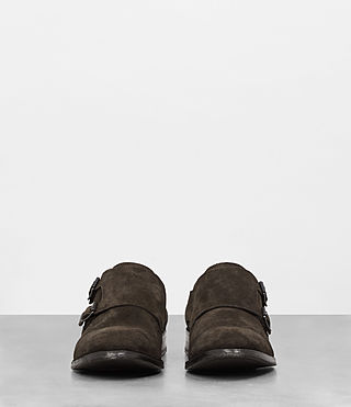 Hombre Hynes Monk-Stripe Shoe (Bitter Brown) - product_image_alt_text_4