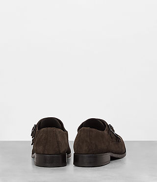 Hombre Hynes Monk-Stripe Shoe (Bitter Brown) - product_image_alt_text_5