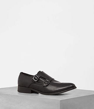 Mens Hynes Monk-Strap Shoe (ONYX BLACK) - product_image_alt_text_1