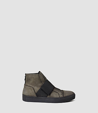 Hommes Level Hi-Top (Military Green)