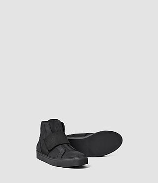 Hommes Level Hi-Top (Black) - product_image_alt_text_3