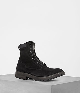 Uomo Stivali Convoy (Washed Black)