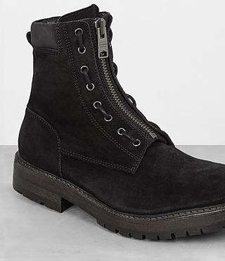 Hombres Botas Convoy (Washed Black) - product_image_alt_text_2