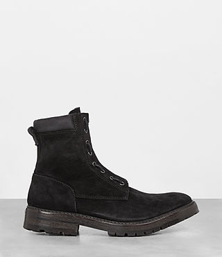 Hombres Botas Convoy (Washed Black) - product_image_alt_text_4