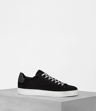 Mens Code Low-Top Sneaker (Black) - Image 1