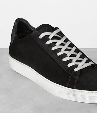 Mens Code Low-Top Sneaker (Black) - Image 2