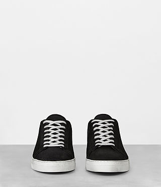 Mens Code Low-Top Sneaker (Black) - Image 4