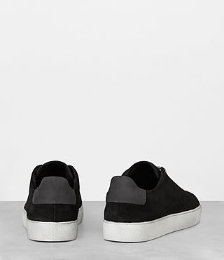 Mens Code Low-Top Sneaker (Black) - Image 5