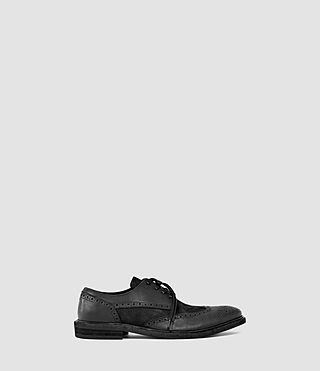 Hombres Whistler Brogue (Black Cord)