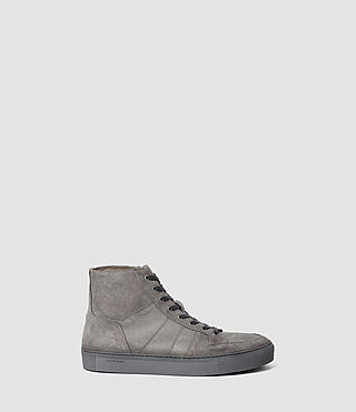 Hommes Pact Hi-top Sneaker (Steel Grey) -